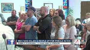 News video: Family testifies to keep man who killed 6 relatives in prison