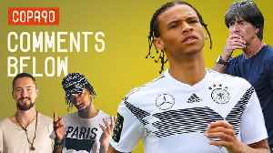 News video: Leroy Sané left out of Germany's World Cup Squad?! | Comments Below