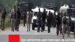 IED Detected And Defused In Sopore [Video]