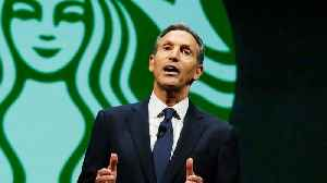 News video: Starbucks CEO Howard Schultz Is Stepping Down