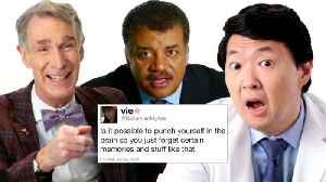 Bill Nye, Neil DeGrasse Tyson and More Answer Science Questions from Twitter | Tech Support [Video]