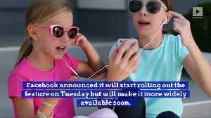 News video: Facebook to Introduce Lip Sync Live Feature