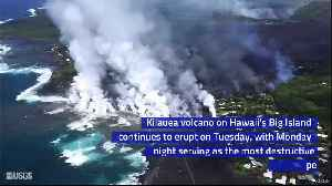 News video: Lava in Hawaii Destroys Hundreds of Homes Overnight