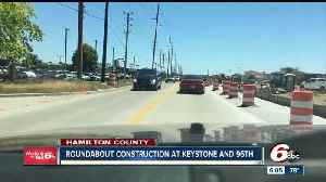 Roundabout construction begins at Keystone and 96th Street