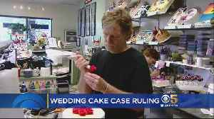 News video: Supreme Court Rules For Colorado Baker In Same-Sex Wedding Cake Case