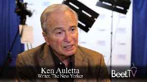 News video: Ken Auletta's 'Frenemies' Book Chronicles Anxiety And Disruption In The Ad World