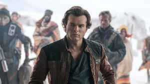 News video: 'Solo' Could Lose Over $50 Million For Disney And Lucasfilm