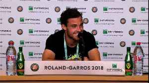 News video: ''It's changed my life'' - Cecchinato elated after shock Djokovic victory