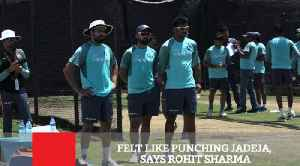 Felt Like Punching Jadeja, Says Rohit Sharma