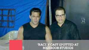Race 3' Cast Spotted At Mehboob Studios