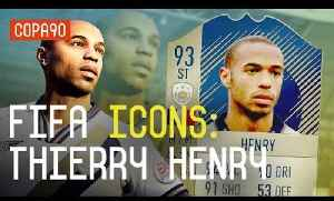 News video: Thierry Henry: The Best Premier League Striker Ever? | FIFA Icons Explained