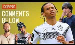 News video: Leroy Sané left out of Germany's World Cup Squad?!   Comments Below