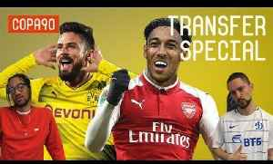 News video: Arsenal to Swap Giroud with Aubameyang? | Transfer Special