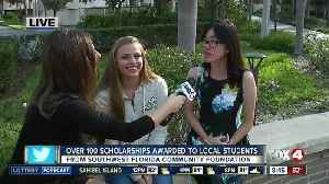 News video: Southwest Florida Community Foundation awards 135 scholarships to local students - 8:30am live report