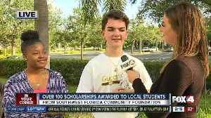 News video: Southwest Florida Community Foundation awards 135 scholarships to local students - 8am live report