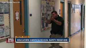 News video: Active shooter training leads to questions about security preparedness in Manatee County schools