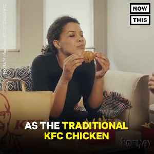 News video: KFC Is About To Test Vegetarian Chicken