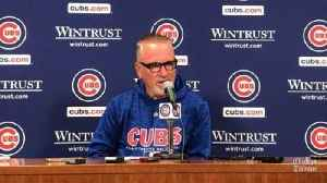 Joe Maddon on Cubs' loss to Phillies: 'The engine never turned over' [Video]