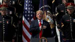 Did President Trump Forget the Words to 'God Bless America?'