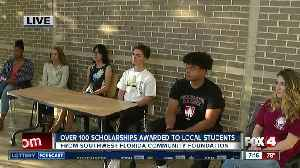 News video: Southwest Florida Community Foundation awards 135 scholarships to local students - 7am live report