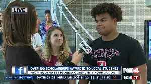 News video: Southwest Florida Community Foundation awards 135 scholarships to local students - 7:30am live report