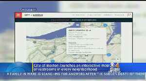 News video: City Of Boston Launches Interactive Map Of Restrooms