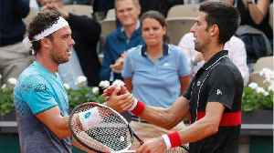 News video: Novak Djokovic Bows To 25 Year Old Unknown