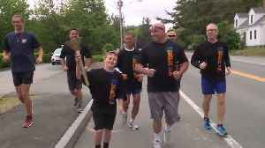 News video: Maine law enforcement take part in Special Olympics torch run