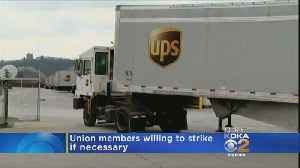 News video: Teamsters: 260,000 UPS Workers Ready To Strike For Better Contract