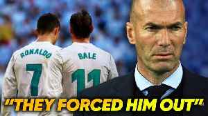 News video: Did Ronaldo & Bale FORCE Zinedine Zidane Out Of Real Madrid?! | #VFN