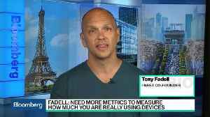 News video: Former Apple Executive Fadell on Tackling Tech Addiction