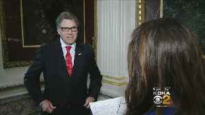Energy Secretary Perry Talks Taxing Drilling