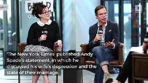 News video: Kate Spade's Husband Issues First Statement After Her Death