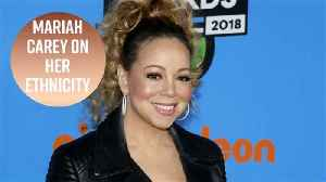 News video: Mariah Carey wishes she looked more black
