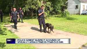 News video: Man armed with knife is arrested, accused of sexual assault and home invasion