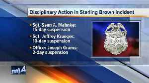 News video: Milwaukee Police Chief discusses discipline after Sterling Brown incident