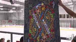 Knights fan creates amazing art dedicated to Fleury and the 1 October victims [Video]