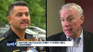 News video: Mayor Barrett: 'I have confidence in the police chief'
