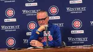 Joe Maddon on Cubs' walk-off win over Phillies: 'Pretty amazing' [Video]
