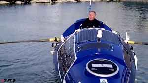 Royal Marine first blind person to row the Pacific
