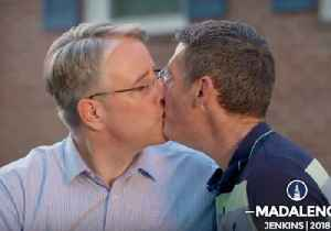 Maryland Gubernatorial Candidate Taunts Trump in Campaign Ad With Same-Sex Kiss