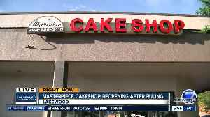 News video: Masterpiece Cake Shop reopens after Supreme Court ruling