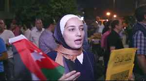 News video: New PM: Jordan 'moving to withdrawing tax law' after record protests