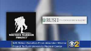 News video: Chicago Hospital Gets $45 Million To Expand PTSD Treatment