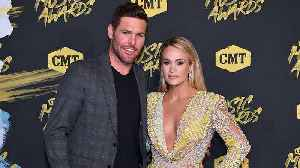 News video: Carrie Underwood Kisses Husband Mike Fisher After Winning CMT Award for Female Video of the Year