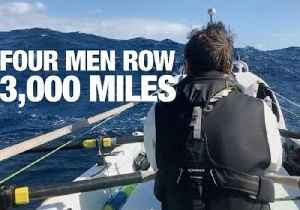 Four Guys Travel 3,000 Miles Across the Atlantic in a Row Boat