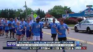 News video: Baltimore County complete leg in annual Law Enforcement Torch Run