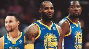 News video: Lebron James PRAISES KD And Draymond As GOATS, Will Take Meeting with Warriors During Free Agency