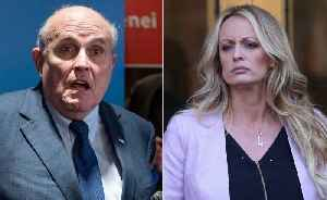 News video: Stormy Daniels' friend rips Rudy Giuliani's 'hypocritical' rant, notes President Trump himself appeared in softcore porn videos