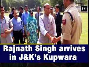 News video: Rajnath Singh arrives in J&K's Kupwara
